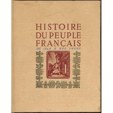 Histoire du peuple français de 1848 à nos jours