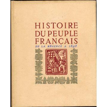 Histoire du peuple français de la régence à 1848