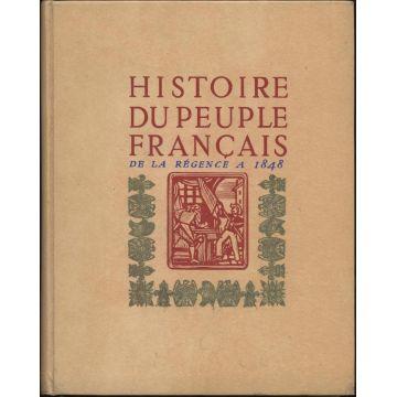 Histoire du peuple francais Tome 3  De la Regence a 1848