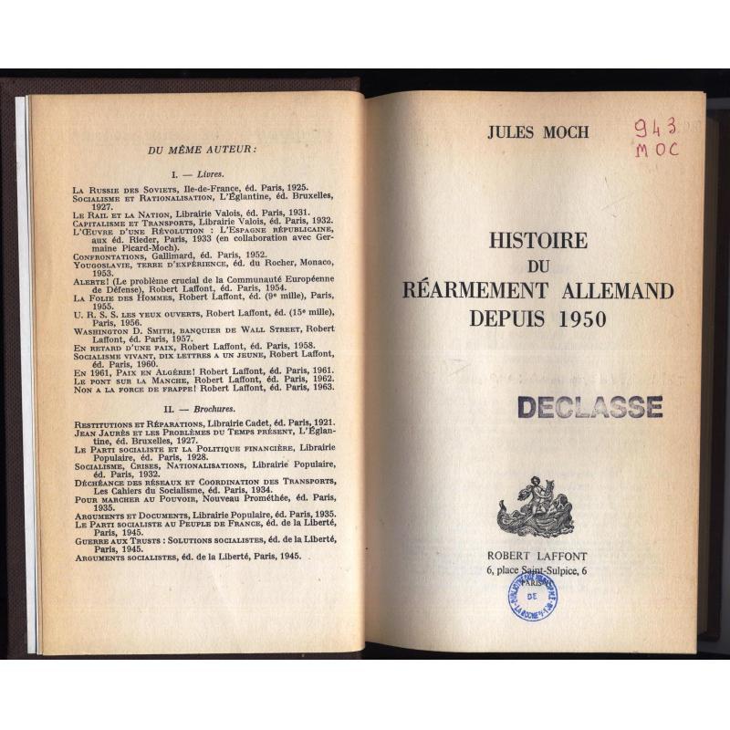 Histoire du réarmement allemand depuis 1950