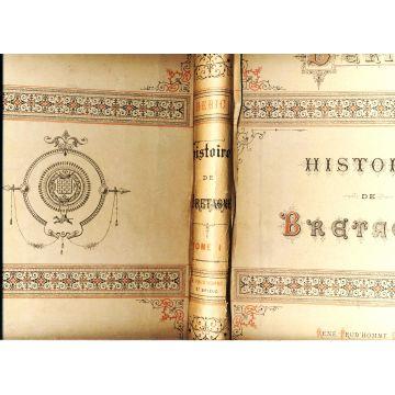 Histoire ecclesiastique de Bretagne en 2 tomes