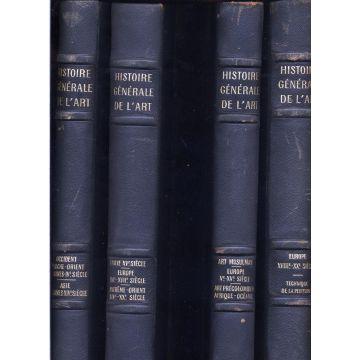 Histoire generale de l'art 4 tomes