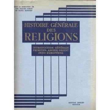 Histoire generale des religions tome 1