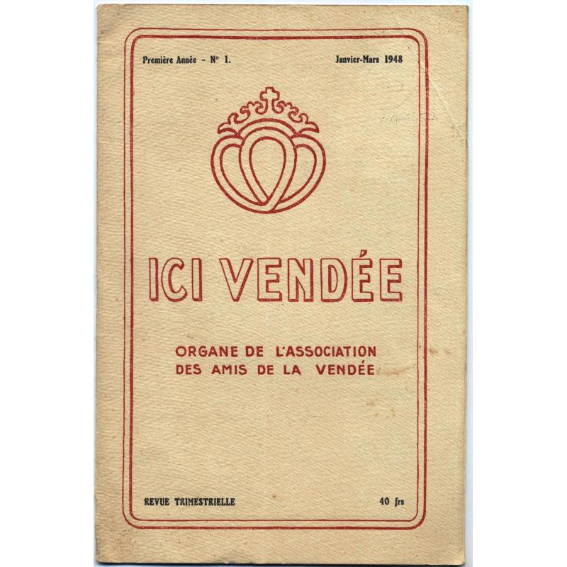 Ici vendée n°1 de 1948