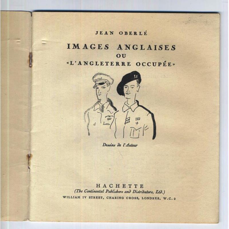 Images anglaises ou l'Angleterre occupée PORT GRATUIT