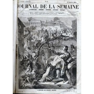 Journal de la semaine 1861 - 62. Numeros 93 à 226