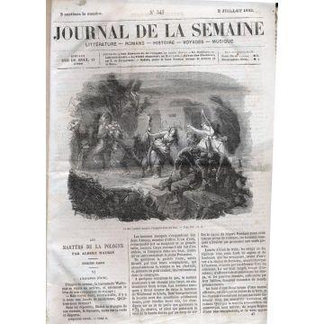 Journal de la semaine 1863-64