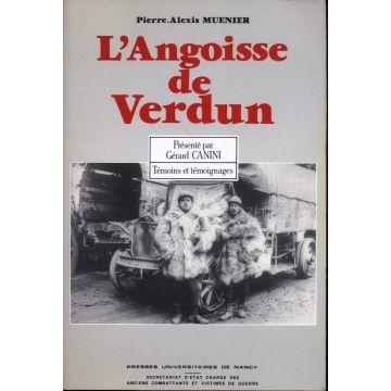 L'angoisse de Verdun