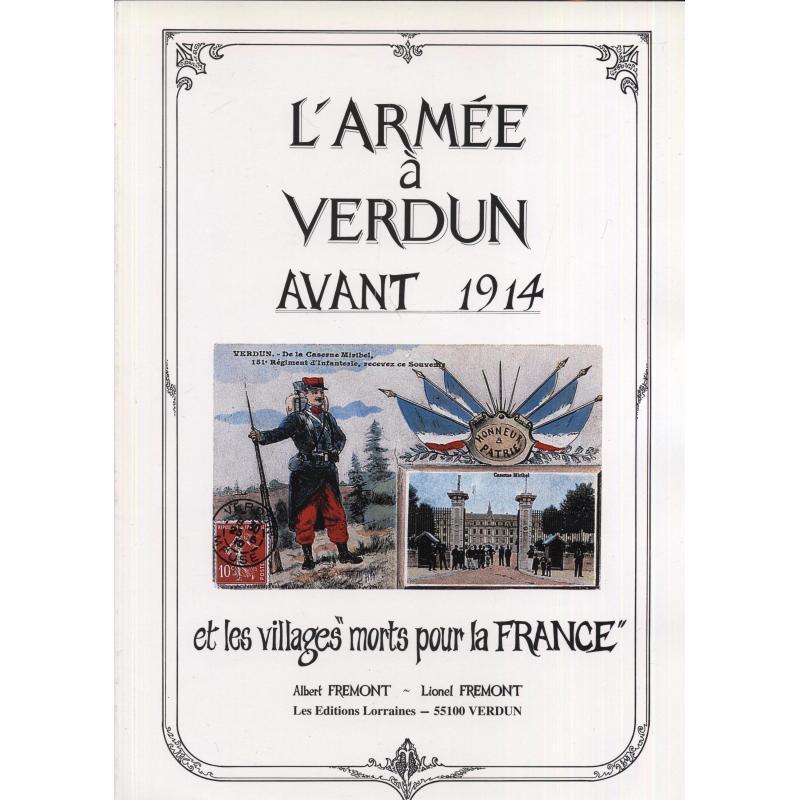 """L'armée à Verdun avant 1914 et les villages """"morts pour la France"""""""