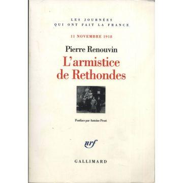 L'armistice de Rethondes