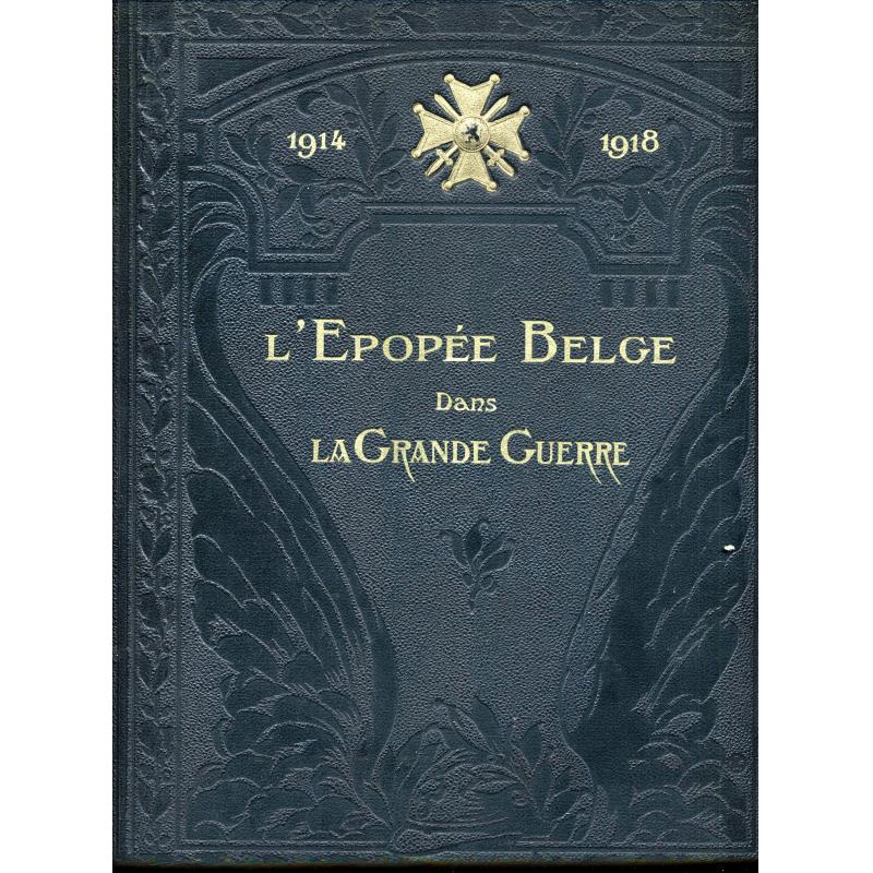 L'epopee Belge dans la Grande Guerre