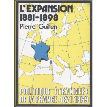 L'expansion 1881 - 1898