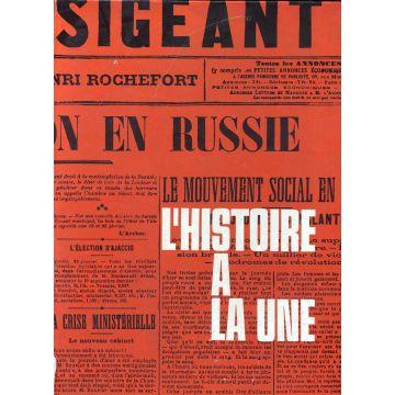 L'histoire a la une 7 janvier 1900-7 mai 1945