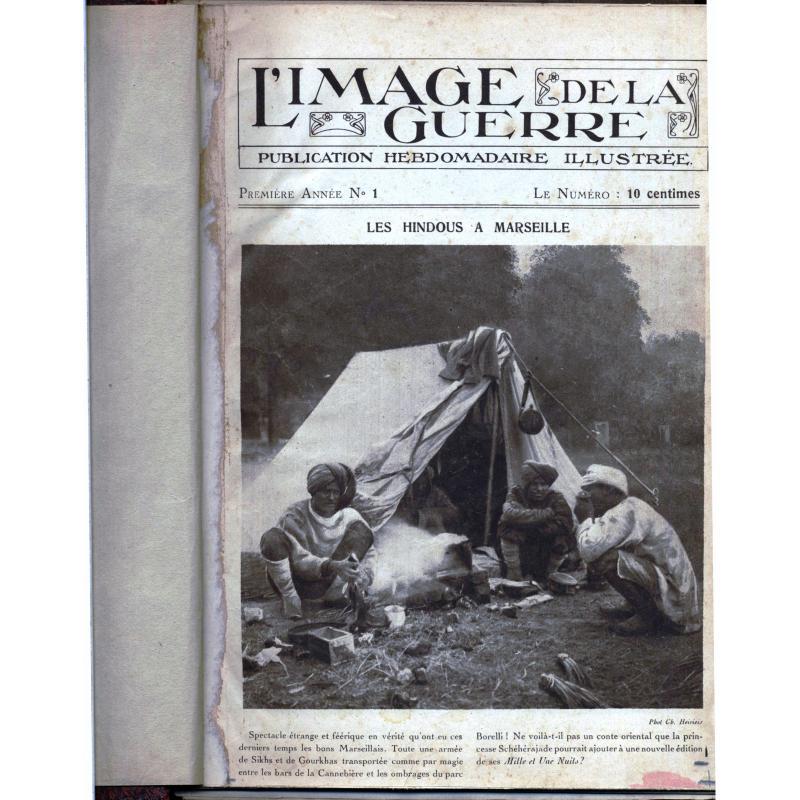 L'image de la guerre n°1 au n°59