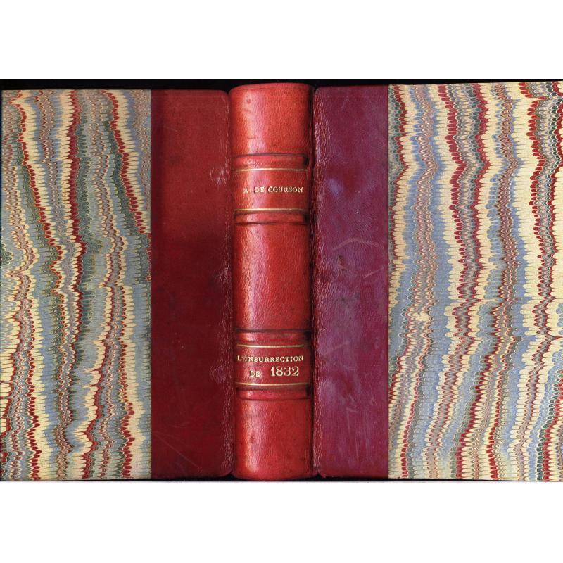 L'insurrrection de 1832 en Bretagne et dans le Bas-Maine