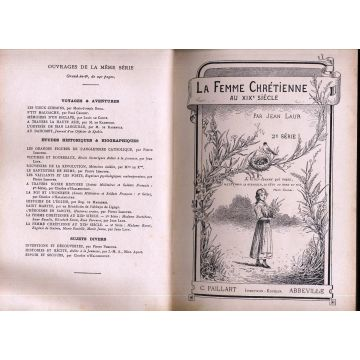 La femme chrétienne au XIXè siècle 2e série Madame barat Eugénie de