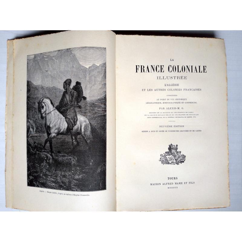 La France coloniale illustree 1890 1ere série avec erreurs de pagination