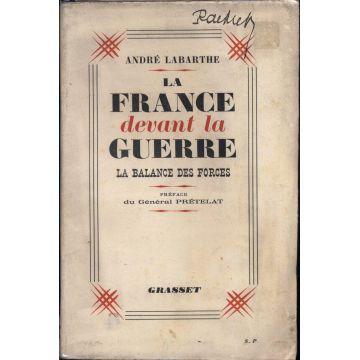 La France devant la guerre