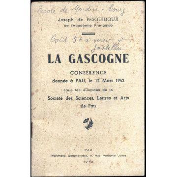La Gascogne conférence donnée à Pau le 12 mars 1942