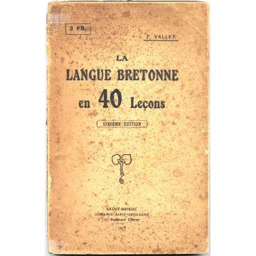 La langue bretonne en 40 leçons