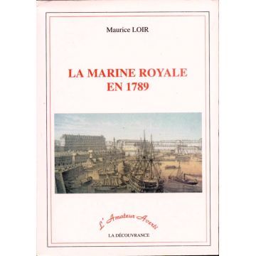 La marine royale en 1789