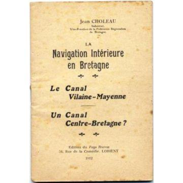 La navigation intérieure en Bretagne