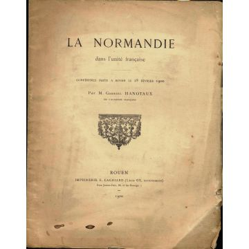 La Normandie dans l'unite française