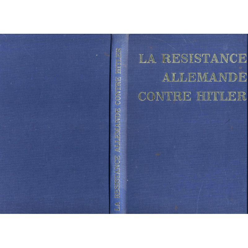 La résistance allemande contre Hitler