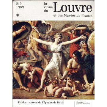 La revue du Louvre et des Musees de France 5 tomes n°1 à 5-6 1989