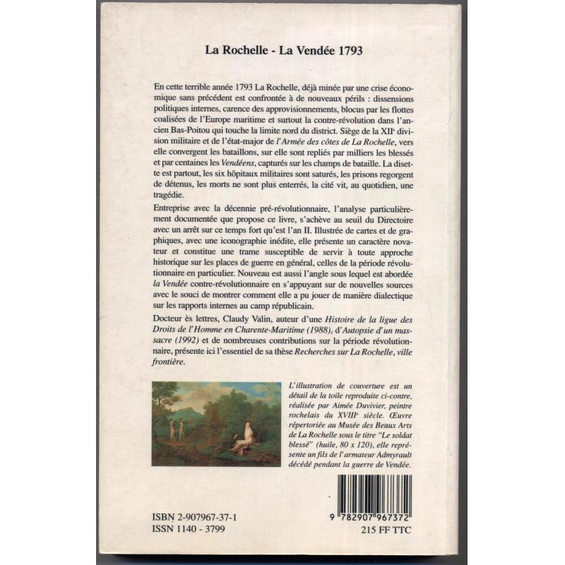 La Rochelle La Vendée 1793