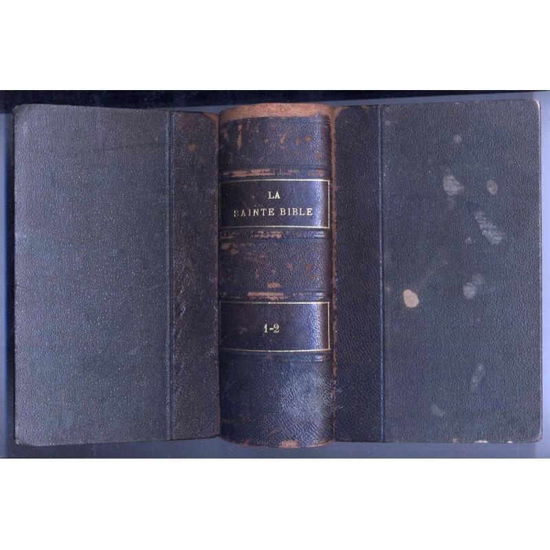 La Sainte Bible 1845 2 tomes en un