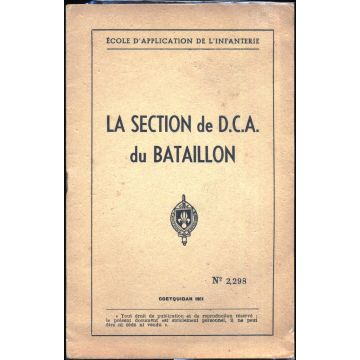 La section de DCA du bataillon