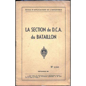 La section de DCA du bataillon