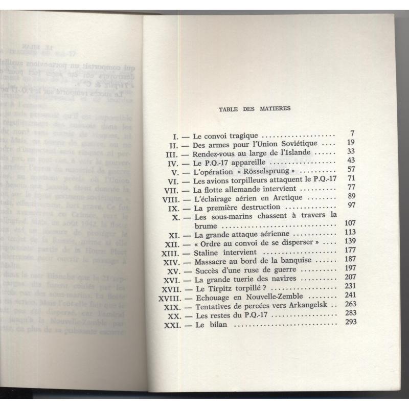 La tragédie du PQ17 ex-libris de Michel Debré