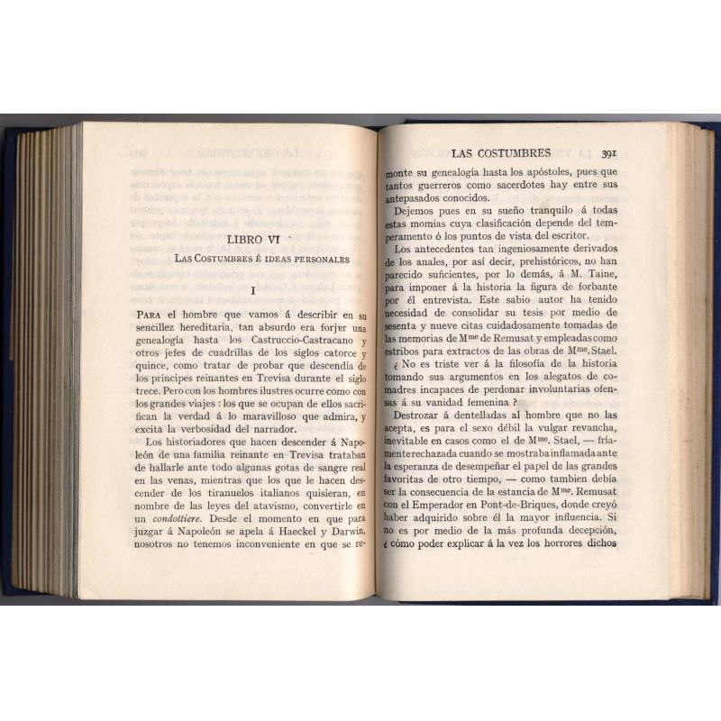 La vida intima de Napoléon (Espagnol)