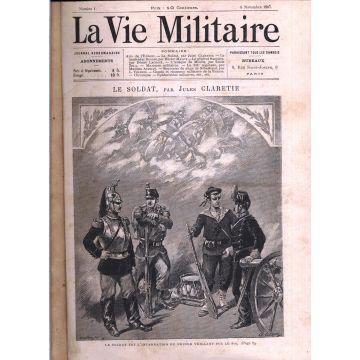 La vie militaire du n°1 au n°50, du 5 novembre 1887 au 13 octobre 1888