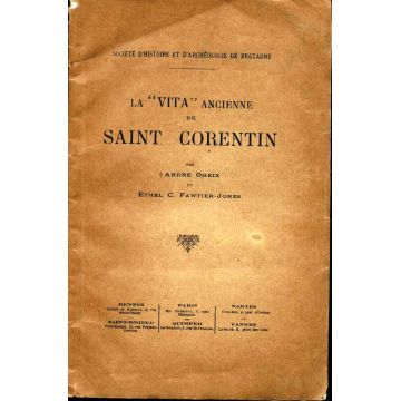 "La ""Vita"" ancienne de Saint-Corentin"
