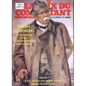 La voix du Combattant du djebel-flamme n°1562, George Clemenceau