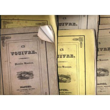 La vouivre 6 numeros avril-juillet 1833
