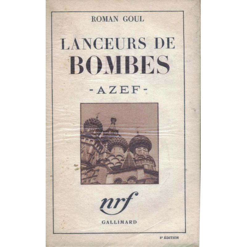 Lanceurs de bombes Azef (roman)