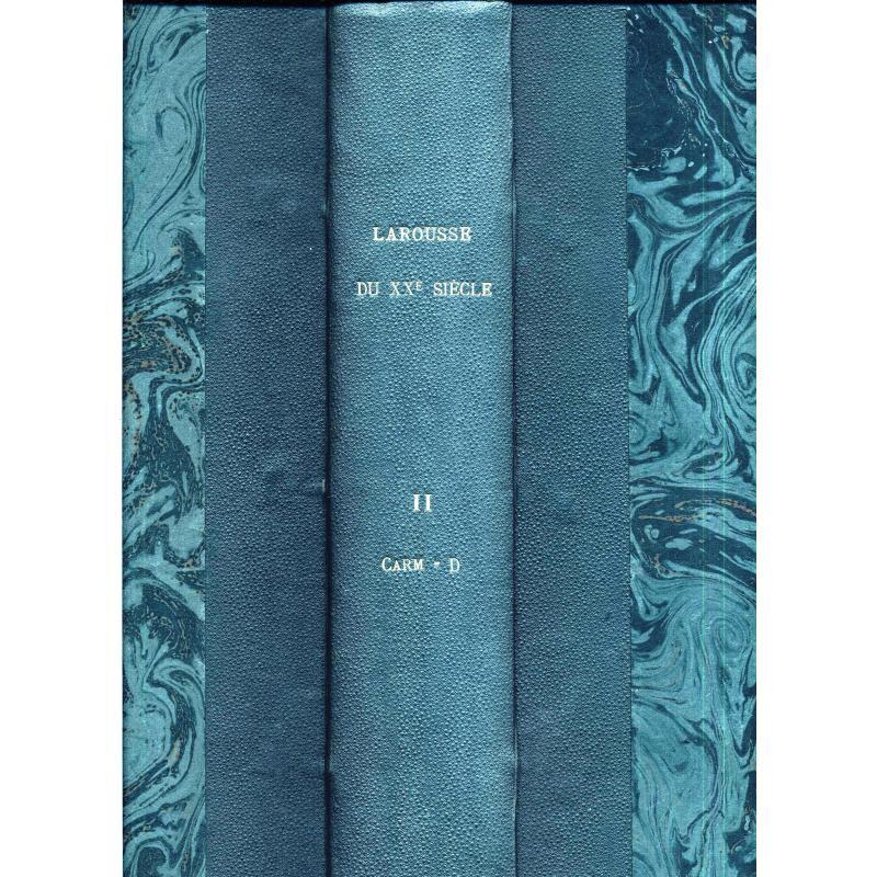 Larousse du XXè siècle en six volumes