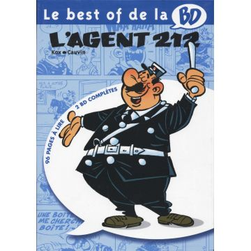 Le best of de la BD - L'agent 212