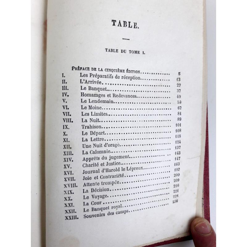 Le fratricide ou Gilles de Bretagne tomes 1 et 2 dépareillés