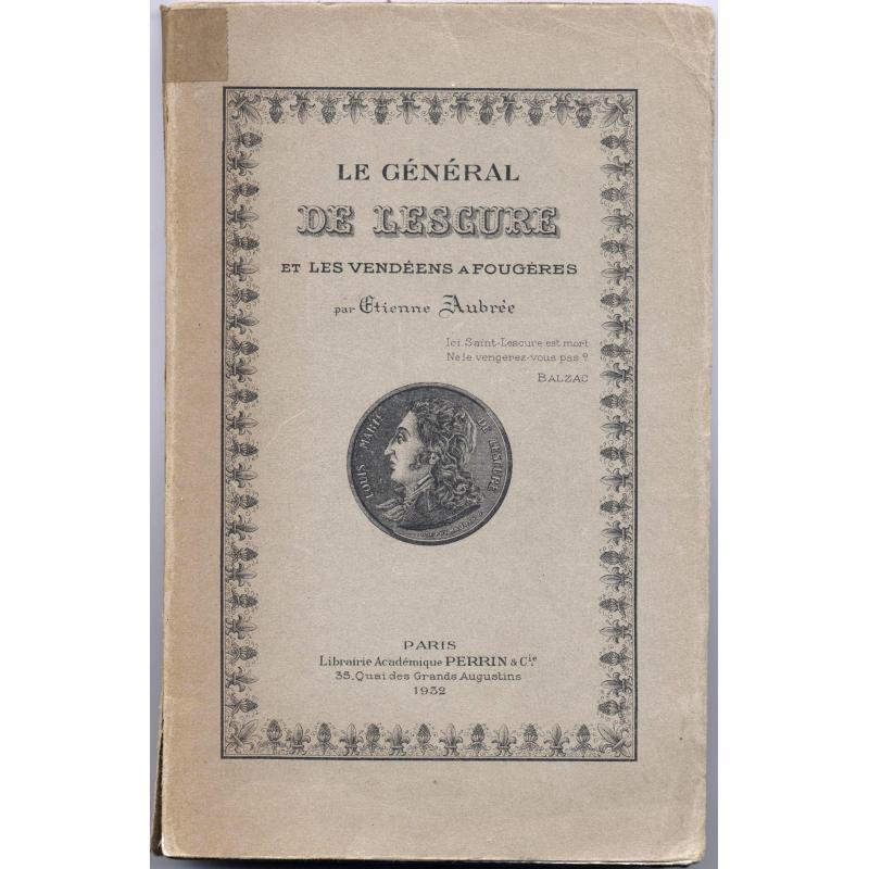 Le Général de Lescure et les Vendéens à Fougères