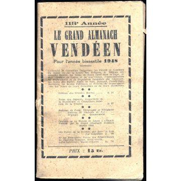 Le grand almanach vendéen. 113e annee