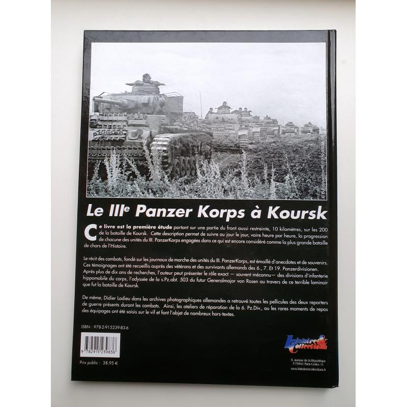 Le IIIe panzerkorps à Koursk