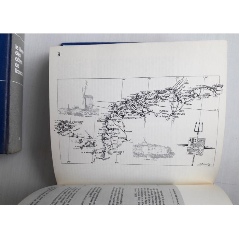 Le livre des côtes de France 2 tomes