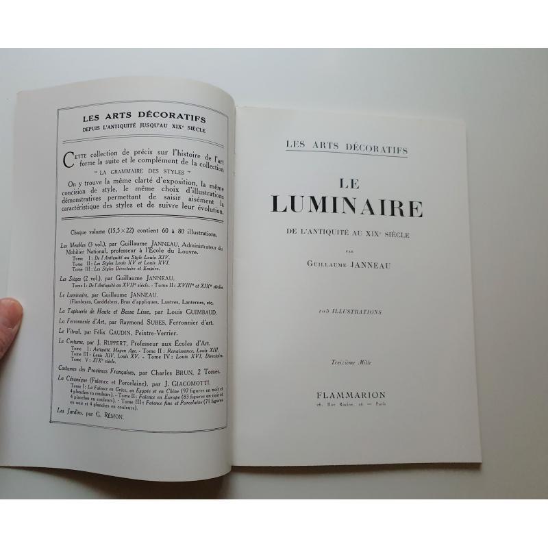 Le luminaire de l'antiquité au XIXè siecle