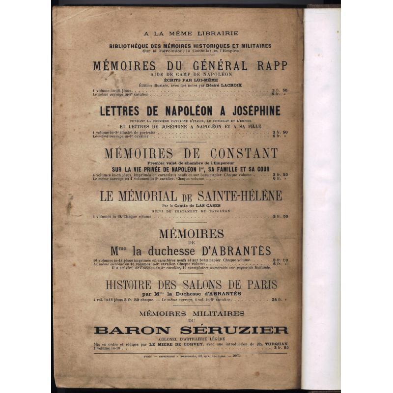 Le mémorial de Sainte-Helene tome 2 dessins de Blombed