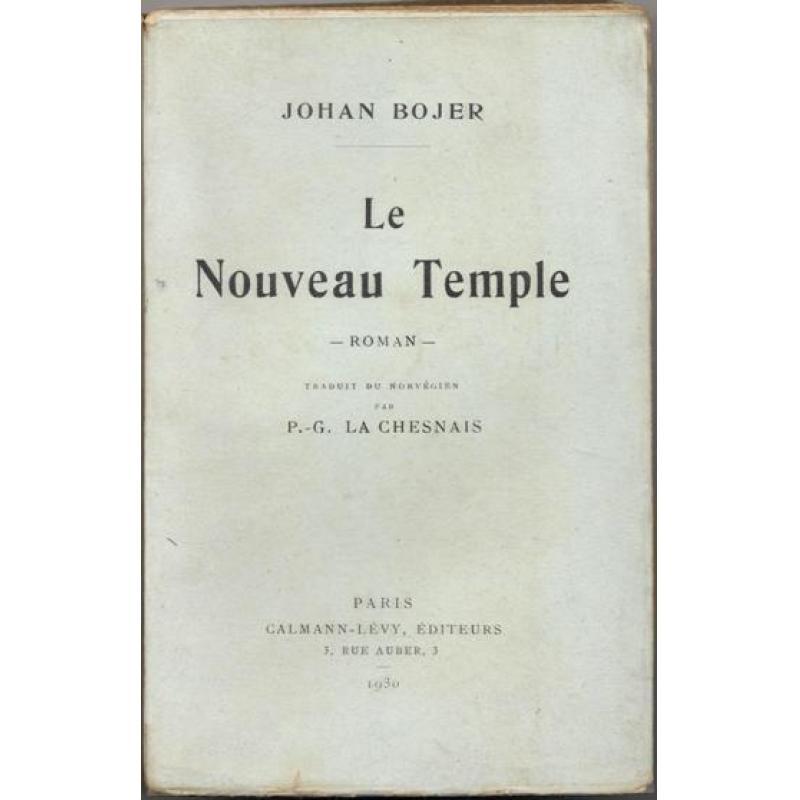 Le Nouveau Temple Traduit du norvégien